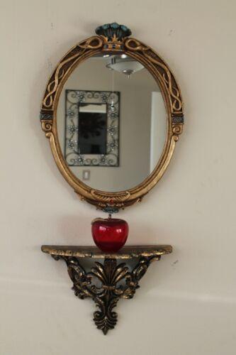 "Disney Villains Snow White Evil Queen Glass Magic Mirror Replica 24""X19""inch big"