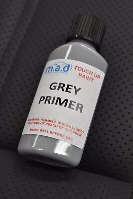 High Build Primer - 30ML HIGH BUILD GREY PRIMER AIR DRY PAINT TOUCH UP BRUSH SCRATCH CHIP REPAIR