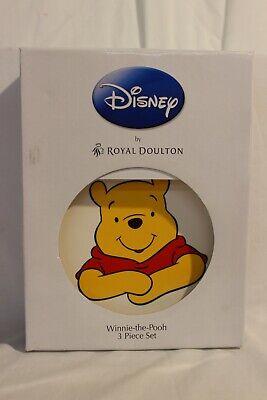 Disney by ROYAL DOULTON Winnie-the -Pooh 3 Piece Set