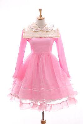 JL-565-2A pink Gothic Lolita Sweet Japan Kleid Kostüm dress Cosplay - Gothic Baby Doll Kostüm