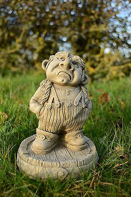Doug-Garden Ornament-Gargoyle-Sculpture Stone Statue-Home Patio-Decorative Gift