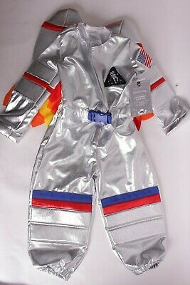 Kids Light Up Halloween Costume (NWT Pottery Barn Kids Light Up Astronaut Halloween costume 3T Outer)