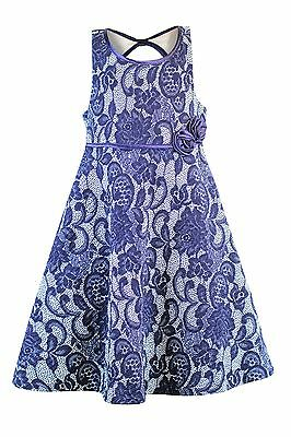 Bonnie Jean Big Girls 7-16 Sleeveless Lace Dress - Girls Party Dress](Party Dresses Girls 7 16)