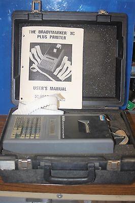 Bradymarker Xc Plus Wire Label Printer