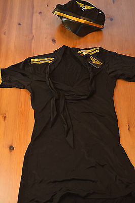 Pre-Owned Costumes Mile High Captain 3523 Original Dream Girl Size Small - Original Girl Costumes