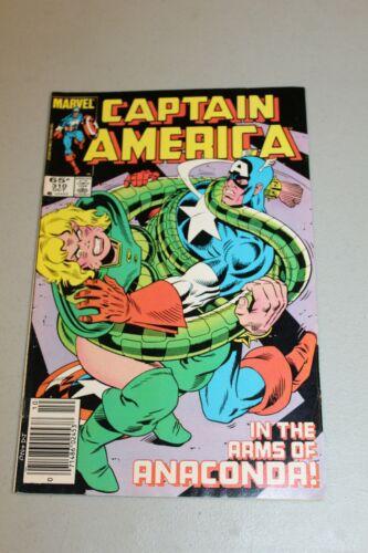Captain America 310 F/VF 1st App Diamondback Serpent Society Disney+ Show Key Bk