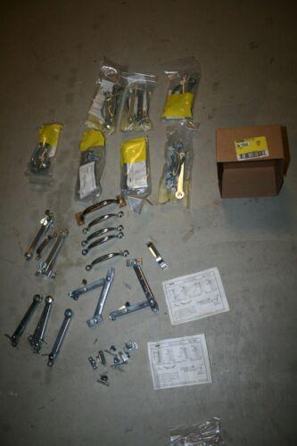 36-7040 Stanley Storm Sash Fastener kit 1727 Zinc Plated 7 unopened 2 opened