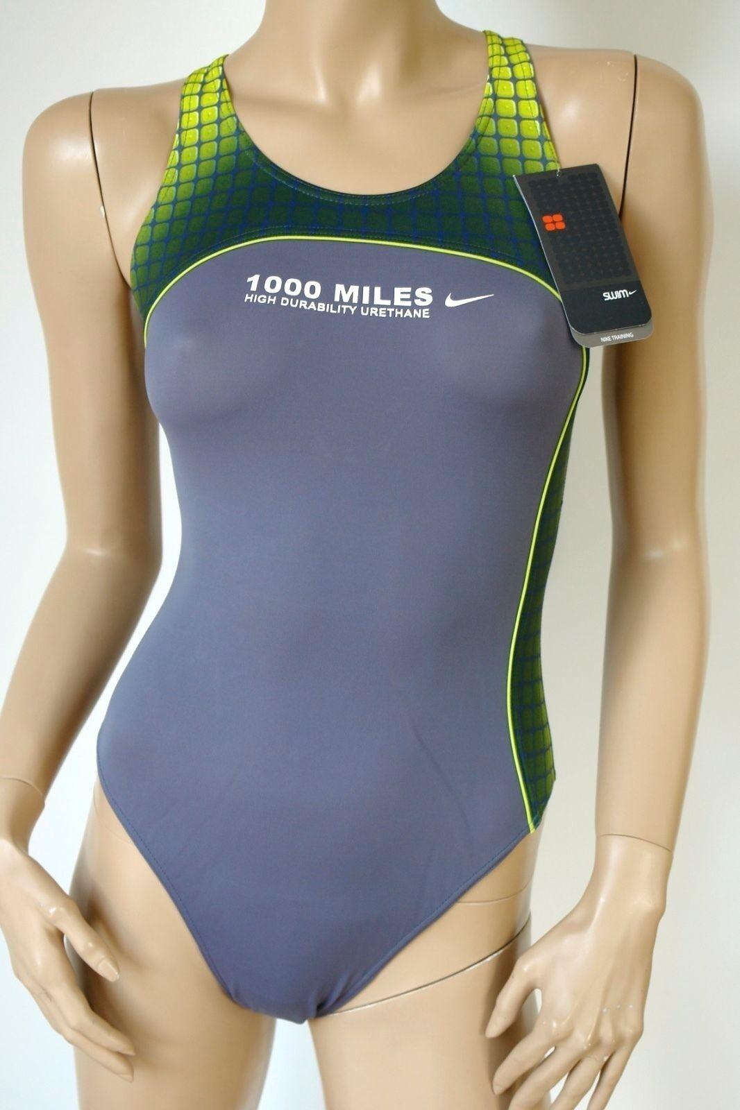 nike swim sportlicher Damen Badeanzug Modell EWB4110 NEU mit Etikett