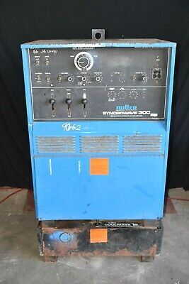 Miller Syncrowave 300 Single Phase Acdc Tungsten Arc 20023040v 26.5 Kva 60