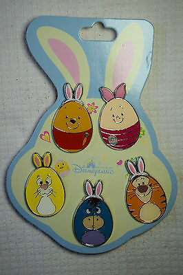 Disney Pin 121334 HKDL - 2017 Character Easter Eggs Booster Pack Pooh Piglet