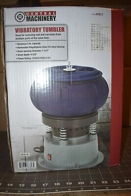 Central Machinery 5 Lb. Vibratory Tumbler W Rust Buster Media- Use Once