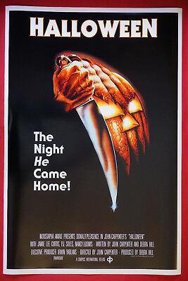 Halloween John Carpenter Jamie Lee Curtis Pleasence Art Movie Poster 24X36 NEW