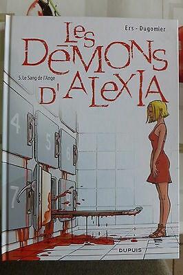 BD les démons d'alexia n°5 le sang de l'ange EO 2009 TBE ers  dugomier