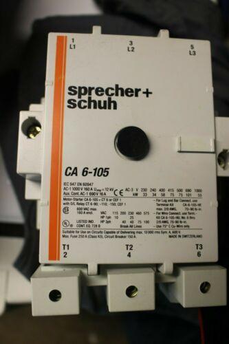 Sprecher+schuh CA  6-105