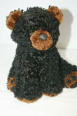 RBI Black Bear Plush Bean Stuffed Toy 9
