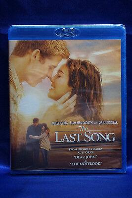 The Last Song (Blu-ray/DVD, 2010, 2-Disc Set) Miley Cyrus, Greg Kinnear  NEW