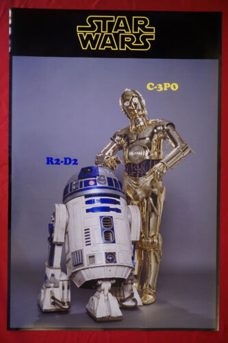 Star Wars R2D2 C3PO Vintage Classic Collectible Picture Poster 24X36 OOP  SWRC