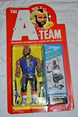 Vintage Galoob A-Team Figure Mr T as BA Baracus; Unopened; 1983
