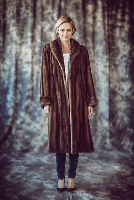 Mink Coat Fur Cuffs Mink Fashion Luxury Fur Fashion 42 - 44 for шуба