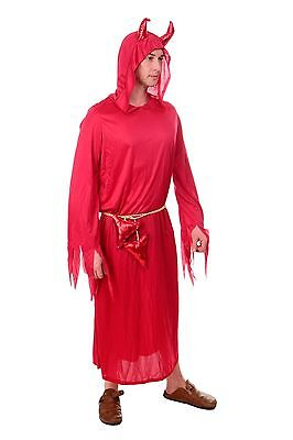 DRESS ME UP Kostüm Karnevalskostüm Herren Frauen Teufel Dämon Luzifer Satan L203 ()
