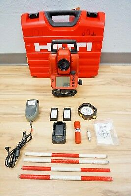 Hilti Pos18 Total Station 3 Sec Reflectorless Mechanical Spectra Trimble