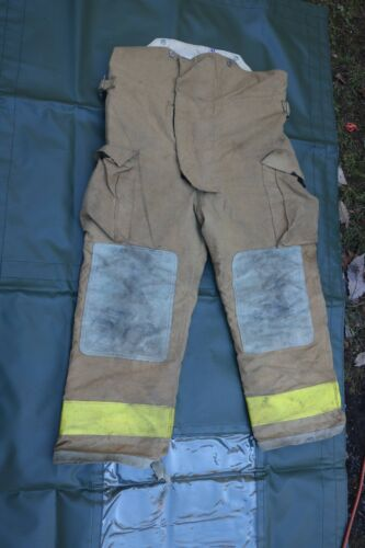 Globe Firefighters Pants Trouser Turnout Gear Fireman Sz 38x28