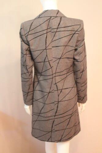 Angela Bucaro Womens Gray 70% Wool Coat Jacket size 8 | eBay