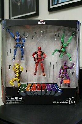Marvel Legends DEADPOOL rainbow 5 pack 3 3/4 inch figures