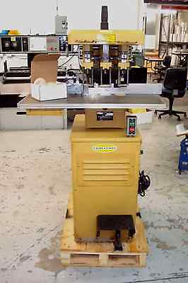Challenge Three Hole Hydraulic Paper Drill