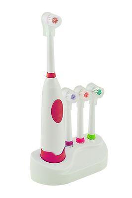 Elektrische automatische Zahnbürste Zahnpflege mit 3 Ersatzbürste Kopf-Kit