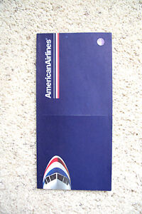 American Airlines - vintage 2004 - UNSED Ticket JACKET  -  EXCELLENT COND - NEW