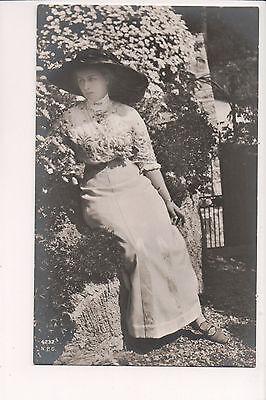 Vintage Postcard Princess Alexandra Victoria  of Prussia Princess August Wilhelm