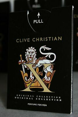 Clive Christian Cologne Perfume Spray Miniature Test Sample Bottle ML Royal Men