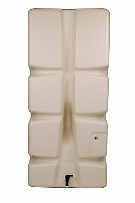 Ondis24 Wandtank Regenwassertank Regenwasserfass Säulentank 310 Liter beige