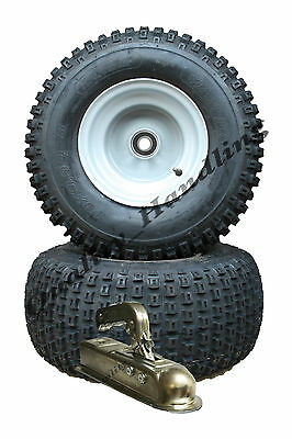 ATV trailer kit - Quad trailer - wheels with bearings + hitch, build your own