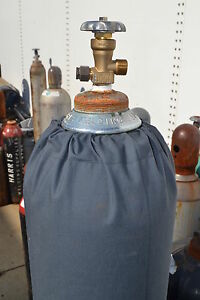 Custom Welding Welder Gas Cylinder COVER Fits Helium Balloon Tanks Navy or Black