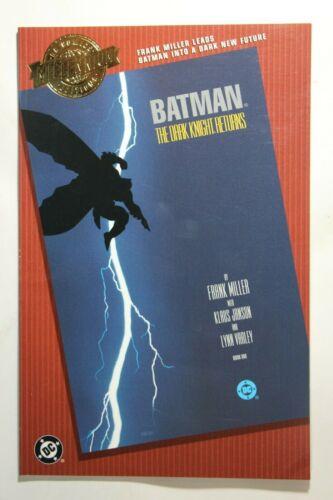 MILLENNIUM EDITION: BATMAN THE DARK KNIGHT RETURNS #1 - FRANK MILLER - 2000 DC