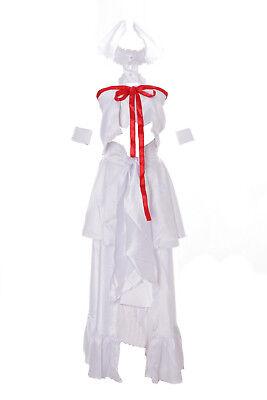 MN-22 Asuna Sword Art Online Alfheim Elfe weiß Set Anime Cosplay Kleid Kostüm ()
