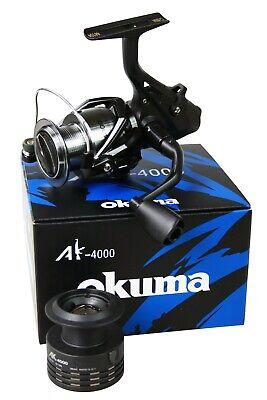 Carrete de Pesca Okuma AK-4000 Baitfeeder Vara Polea Tensora Feederolle comprar usado  Enviando para Brazil