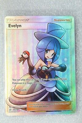 Pokemon Card TCG Trainer Evelyn (Full Art) SM - Team Up 175 / Ultra Rare