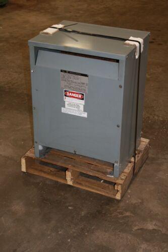 Square D 15 KVA Transformer  240/ 480 -120/240 1 P  Cat 15S1H