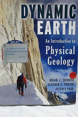 The Dynamic Earth : An Introduction to Physical Geology by Stephen C. (The Dynamic Earth An Introduction To Physical Geology)
