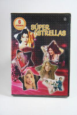 Super Estrellas: 6 Peliculas (DVD, 2013, 2-Disc Set) BRAND NEW~! See Pictures , usado segunda mano  Embacar hacia Mexico