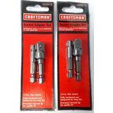 "Craftsman 25976 Socket Adapter Set 1/4"" & 3/8"" 2-2 Packs"