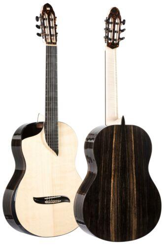 Luthier Concert Classical Contemporary Guitar Turkowiak Offset Soundhole Spruce