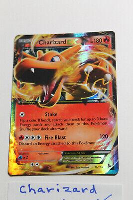 2014 Charizard EX 11/106 Pokemon XY Flashfire ULTRA RARE Holo Foil NEW