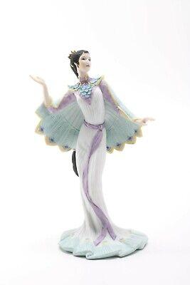 Lenox Peacock Maiden Figurine - 1991 Legendary Princesses Fine Bisque Porcelain