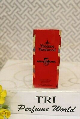 ANGLOMANIA Perfume Vivienne Westwood Eau de Parfum Women 1.7 oz. Sealed Vintage