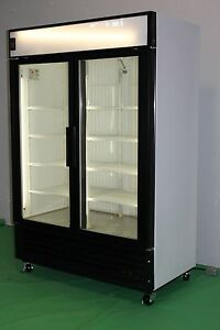 TRUE TWO DOOR GLASS COOLERS AND FREEZERS