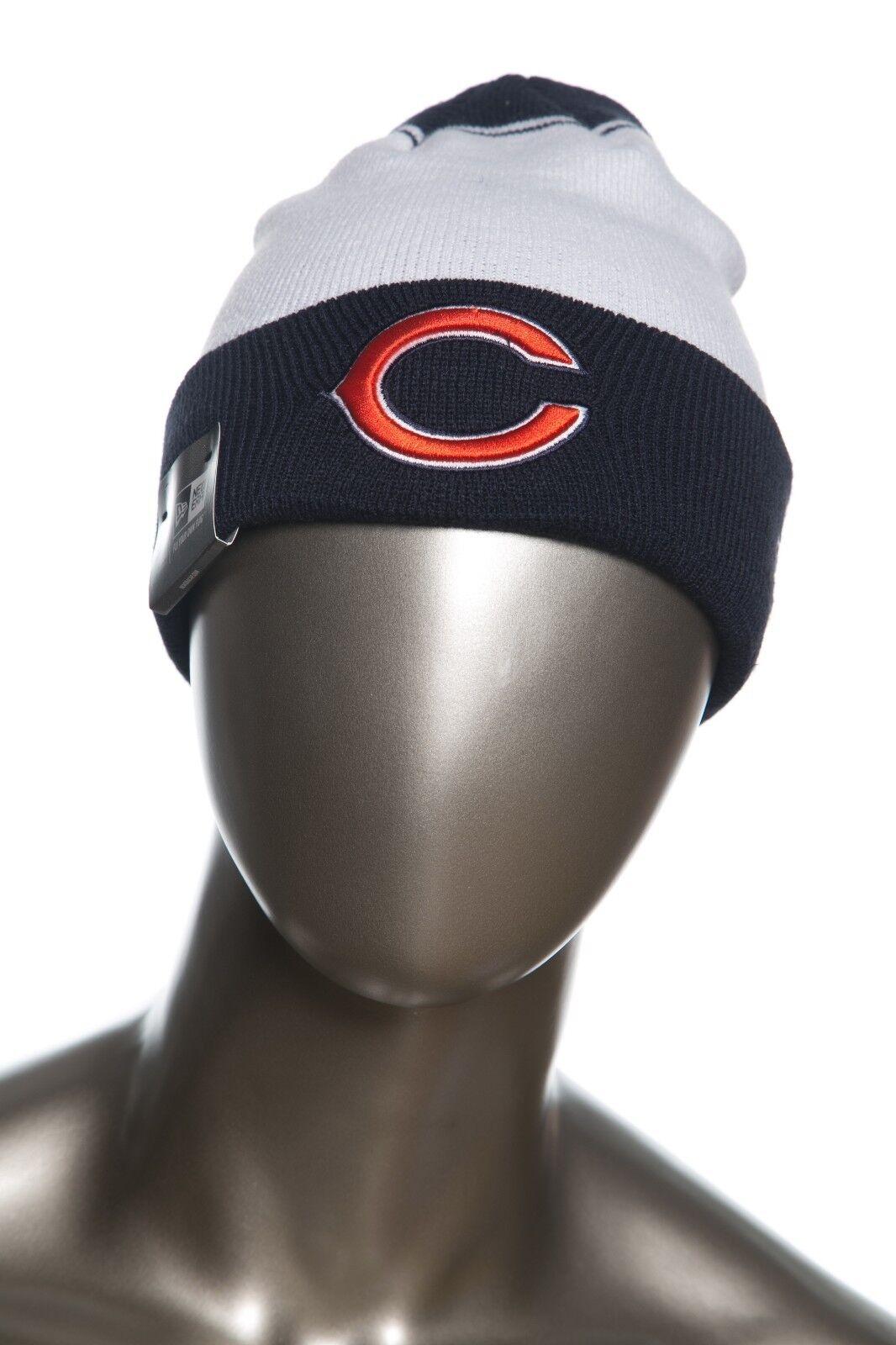 New Era NFL Team Cuffed Beanies / Knit Caps Fall with Raised Puff logo
